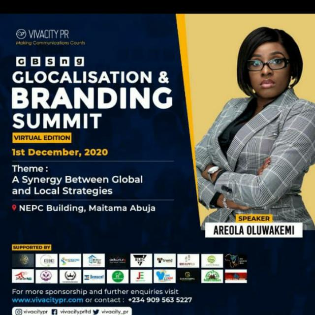 Vivacity PR set to hold 3rd edition of Globalisation And Branding Summit in Abuja
